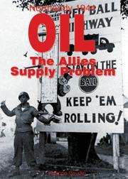 Cover of: OIL, THE SUPPLY PROBLEM OF THE ALLIES (Normandy 1944) | Philippe Bauduin