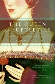 Cover of: The Queen of Subtleties | Suzannah Dunn
