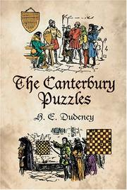 Cover of: The Canterbury puzzles