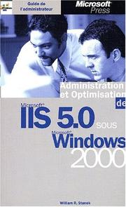 Cover of: Microsoft Windows 2000 et I.I.S: Guide de l'administrateur
