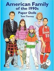 Cover of: American Family of the 1990s Paper Dolls (American Family)