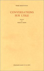 Cover of: Conversations sur l'Isle