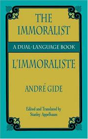 Cover of: L'immoraliste