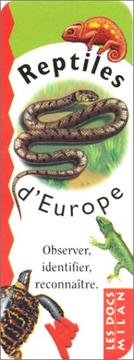 Cover of: Reptiles d'Europe