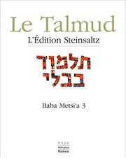 Cover of: Baba metsi a 3, Talmud, vol XIV