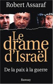 Cover of: Le drame d'Israël