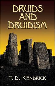 Cover of: Druids and druidism