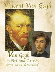 Cover of: Van Gogh on Art and Artists: Letters to Emile Bernard (Genius of Vincent Van Gogh)