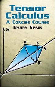 Tensor calculus by Barry Spain