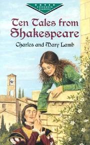 Cover of: Ten Tales from Shakespeare (Evergreen Classics) | Charles Lamb