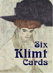 Cover of: Six Klimt Cards