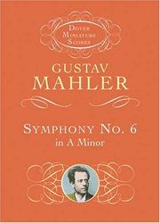 Cover of: Symphony No. 6 in A Minor