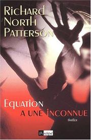 Cover of: Equation à une inconnue