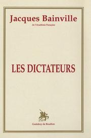 Cover of: Les dictateurs