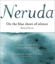 Cover of: On the Blue Shore of Silence: Poems of the Sea