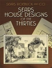 Cover of: Sears House Designs of the Thirties | Roebuck and Co. Sears