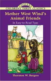 Cover of: Mother West Wind's animal friends