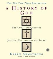 Cover of: The History of God CD: The 4,000 Year Quest