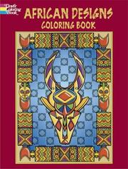 Cover of: African Designs Coloring Book | Marty Noble