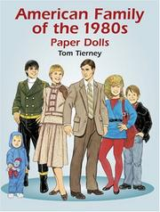 Cover of: American Family of the 1980s Paper Dolls | Tom Tierney