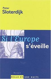 Cover of: Si l'Europe s'éveille