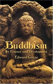 Cover of: Buddhism: its essence and development