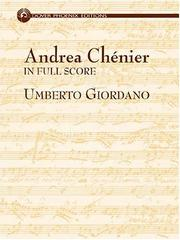Cover of: Andrea Chenier in Full Score