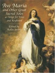 Cover of: Ave Maria and Other Great Sacred Solos