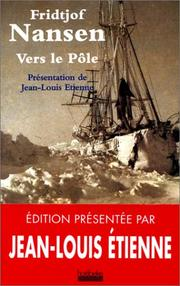 Cover of: Vers le pôle