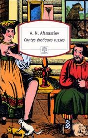 Cover of: Contes érotiques russes