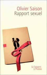 Cover of: Rapport sexuel