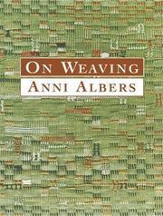 Cover of: On Weaving