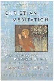 Cover of: Christian Meditation | James Finley