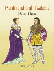 Cover of: Ferdinand and Isabella Paper Dolls