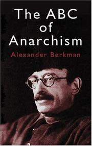 Cover of: ABC Of Anarchism