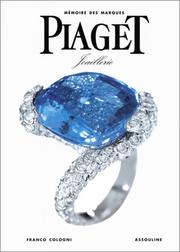 Cover of: Piaget joaillerie