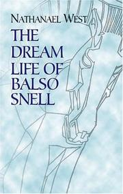 Cover of: The dream life of Balso Snell