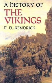 Cover of: A History of the Vikings | T. D. Kendrick