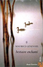 Cover of: Bestiaire enchanté