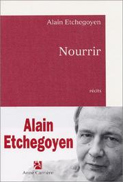 Cover of: Nourrir