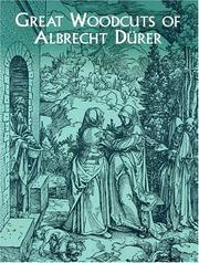 Cover of: Great Woodcuts of  Albrecht Durer