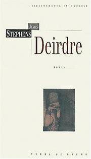Cover of: Deirdre: Traduit de l'anglais par A. & M. Chevalley,
