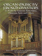 Cover of: Organ Music by French Masters
