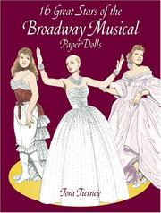 Cover of: 16 Great Stars of the Broadway Musical Paper Dolls
