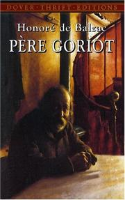 Cover of: Pere Goriot