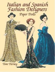 Cover of: Italian and Spanish Fashion Designers Paper Dolls