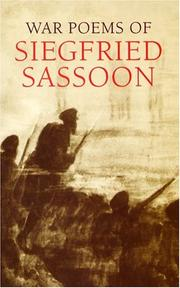 Cover of: The war poems of Siegfried Sassoon