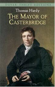 Cover of: The mayor of Casterbridge by Thomas Hardy