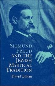 Cover of: Sigmund Freud and the Jewish Mystical Tradition