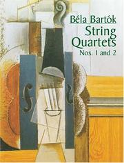 Cover of: String Quartets Nos. 1 and 2